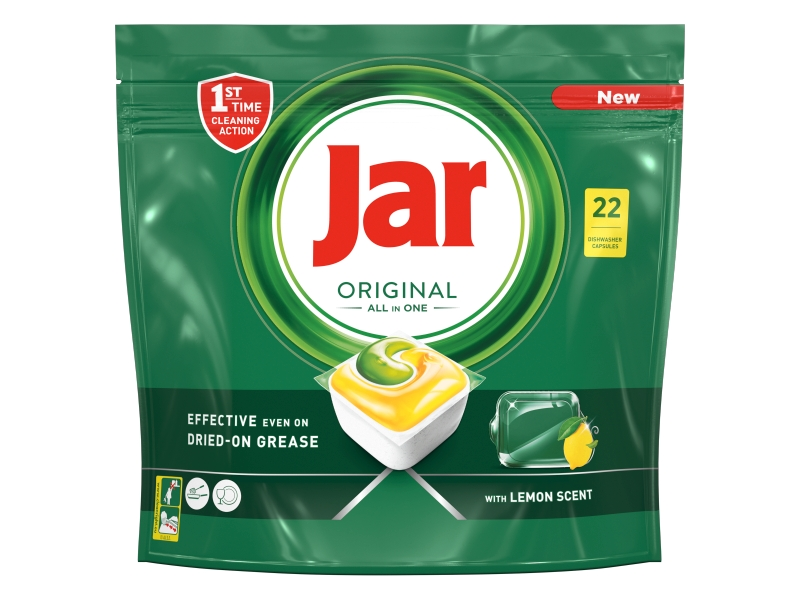 Jar Original All in One Lemon Kapsle do myčky 22ks