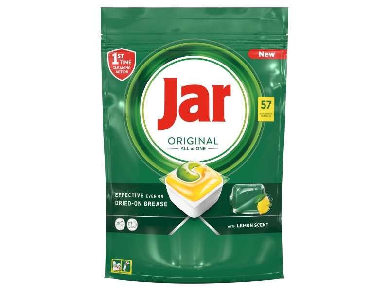 Jar Original All in One Lemon Kapsle do myčky 57ks
