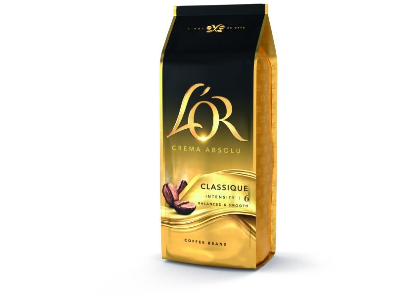 L'OR CREMA ABSOLU Classique zrnková káva 1kg