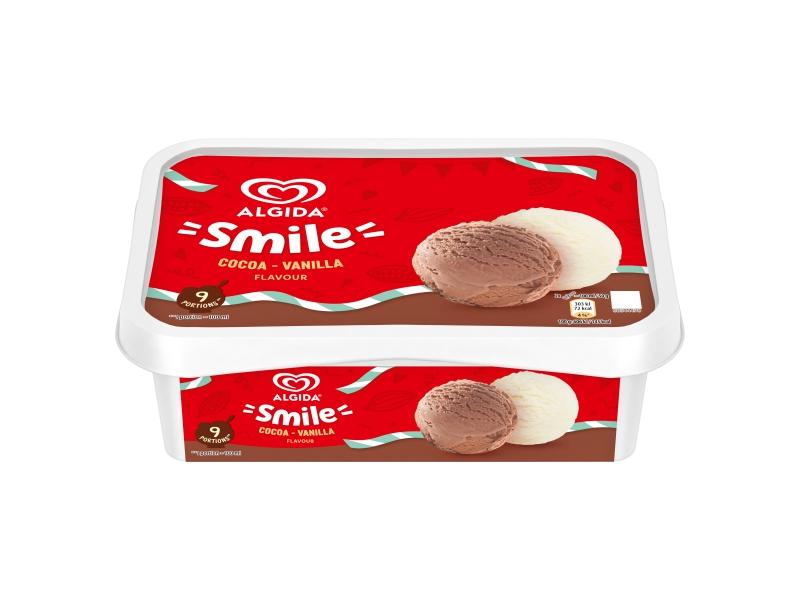 Algida Smile Cocoa-Vanilla zmrzlina 900ml