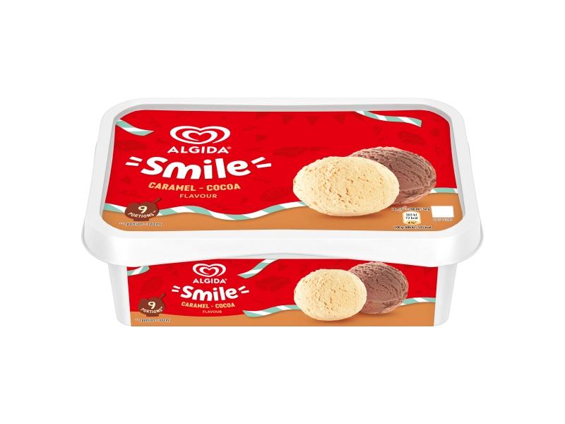 Algida Smile Caramel-Cocoa zmrzlina 900ml