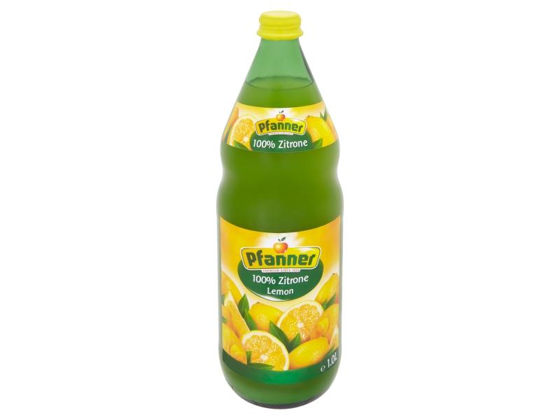 Pfanner 100% citrónová šťáva vyrobená z koncentrátu 1l