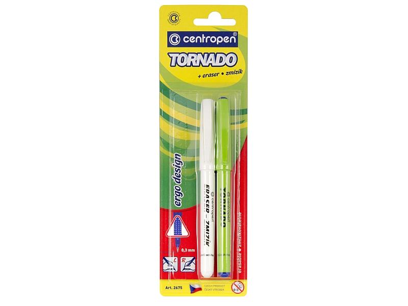 Centropen Roller Tornado + zmizík 1ks