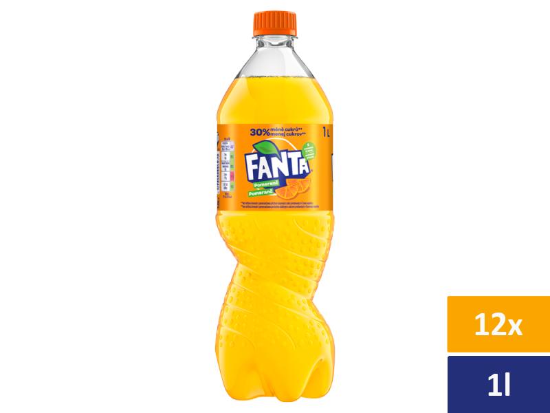 Fanta Pomeranč 12x 1l, PET