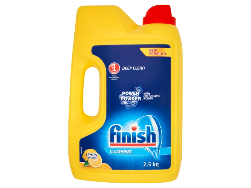 Finish PowerPowder prášek do myčky citrón 2,5kg