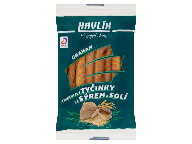Havlík Graham Trvanlivé tyčinky se sýrem a solí 90g