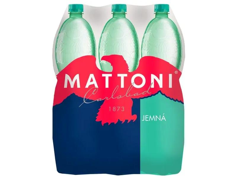 Mattoni Jemně perlivá přírodní minerální voda 1,5l