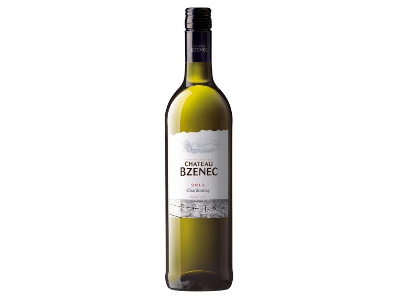 Chateau Bzenec Chardonnay, suché bílé víno 0,75l