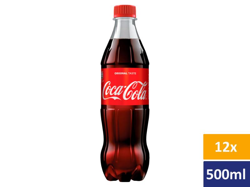 Coca Cola 12x500ml, PET