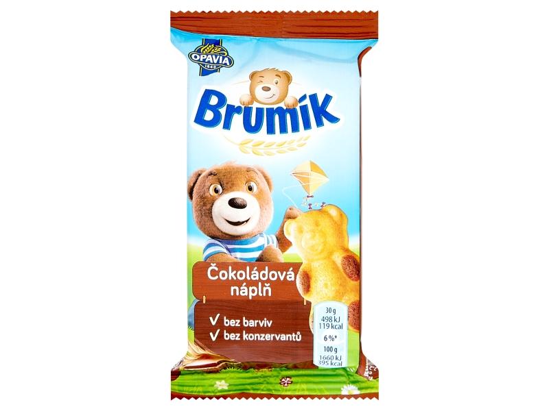 Opavia BeBe Brumík s čokoládovou náplní 30g
