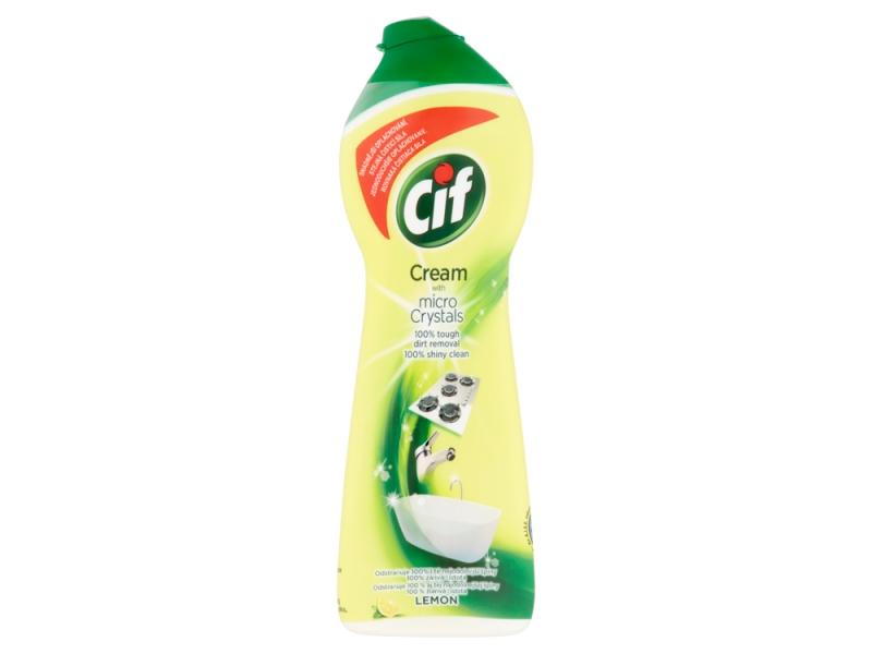 Cif Cream Lemon krémový čisticí abrazivní přípravek 250ml