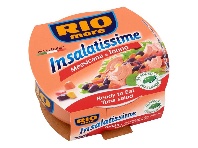 Rio Mare Insalatissime Messicana e Tonno - Tuňák s červenými fazolemi 160g