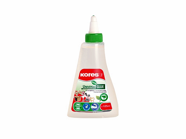 Kores Lepidlo White Glue 125ml 1ks