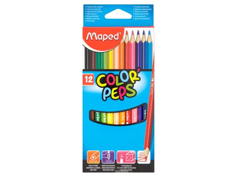 Pastelky trojboké Maped Color Peps 12ks