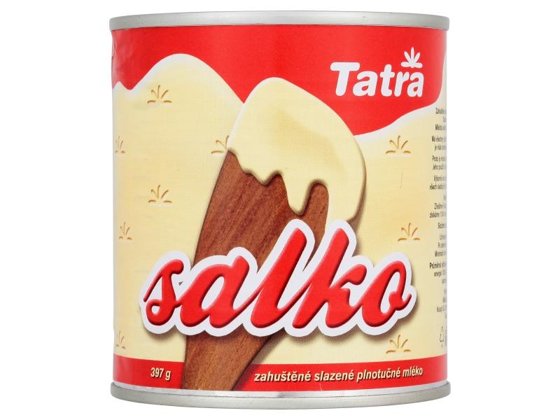 Tatra Salko zahuštěné slazené plnotučné mléko 397g