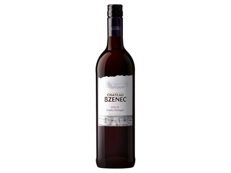 Chateau Bzenec Modrý portugal, suché červené víno 0,75l