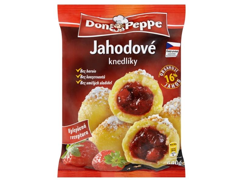 Don Peppe Tvarohové knedlíky jahodové mraž. 1kg