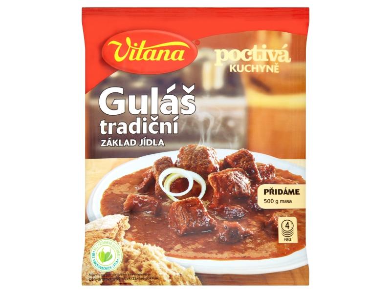 Vitana Poctivá Kuchyně Guláš tradiční 60g