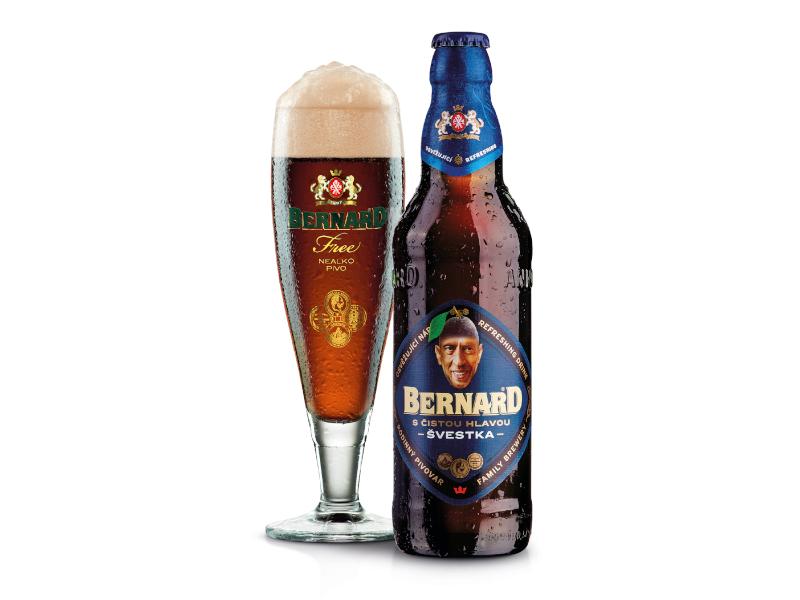 VÝPRODEJ Bernard S čistou hlavou Švestka nealko pivo 0,5l