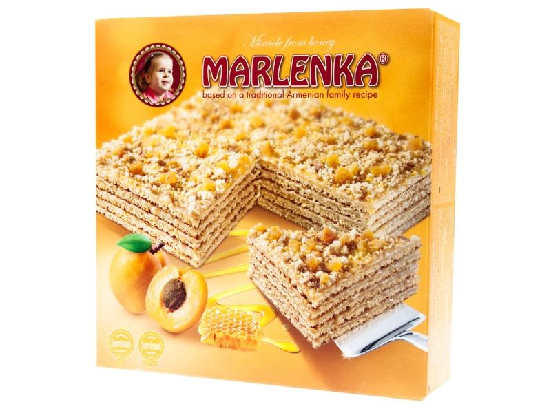 Marlenka Meruňkový medový dort 800g