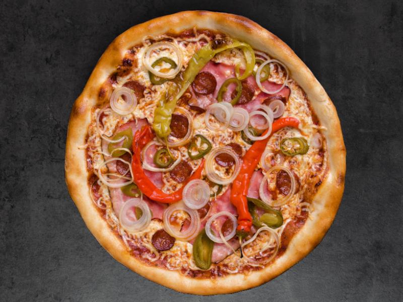 Tom´s Pizza Picante mražená 450g