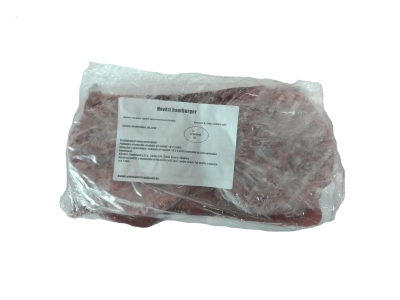 Tom´s Hovězí maso na burger mraž. (6 x 150g) 900g