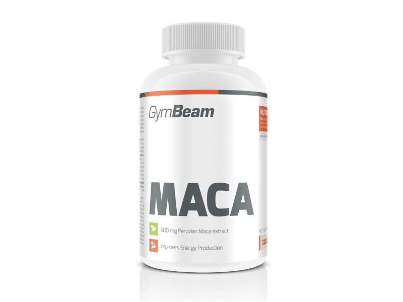 GymBeam MACA 120 kaps.