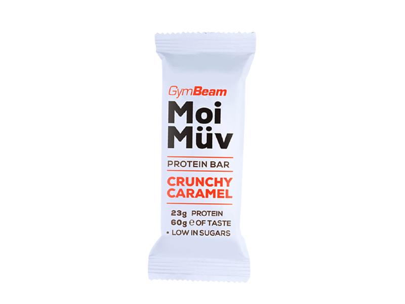 GymBeam Proteinová tyčinka MoiMüv křupavý karamel 60g