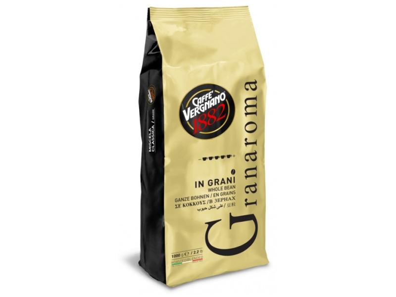 Caffè Vergnano Gran aroma zrnková káva 1kg