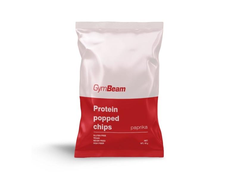 GymBeam Proteinové chipsy paprikové 40g