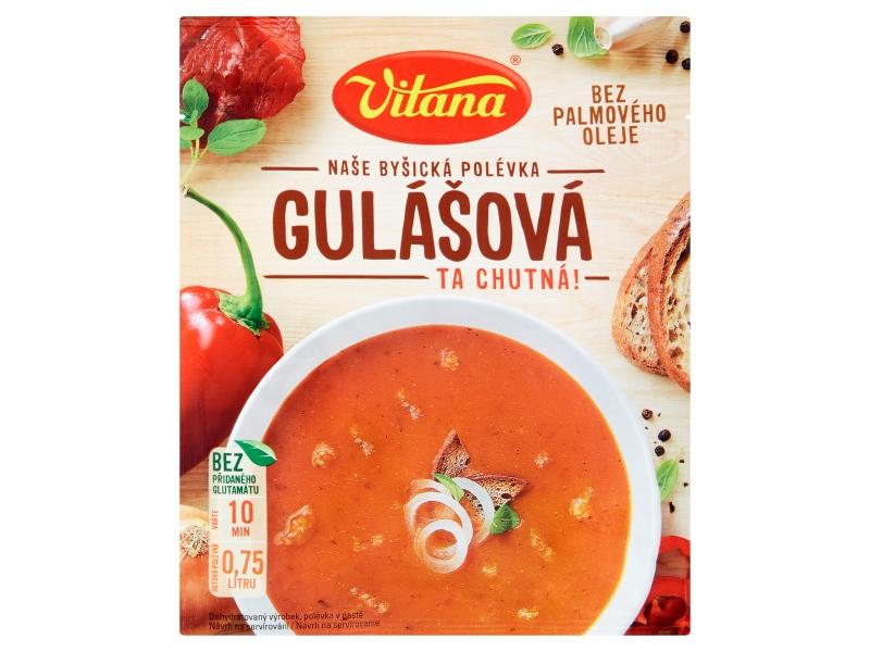 Vitana Naše byšická polévka Gulášová 96g