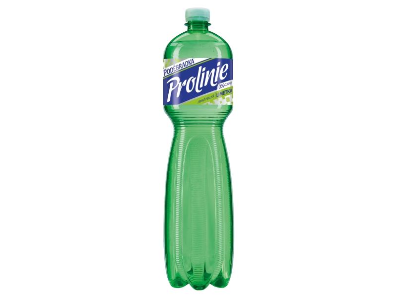 Poděbradka ProLinie Jemně perlivá limetka 1,5l