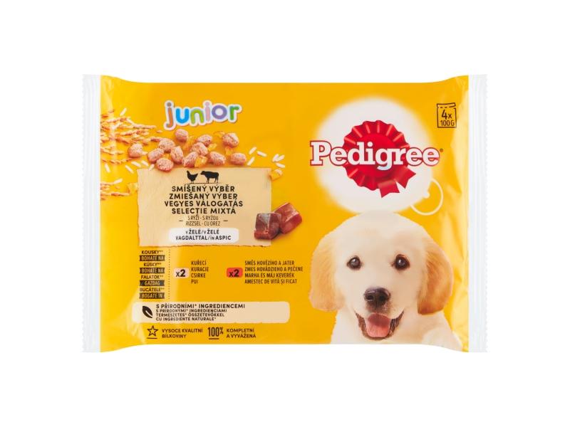 Pedigree Vital Protection Junior 100% kompletní výživa v želé, 4 x 100g