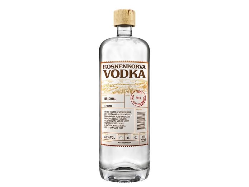 Koskenkorva Vodka 40% 1l